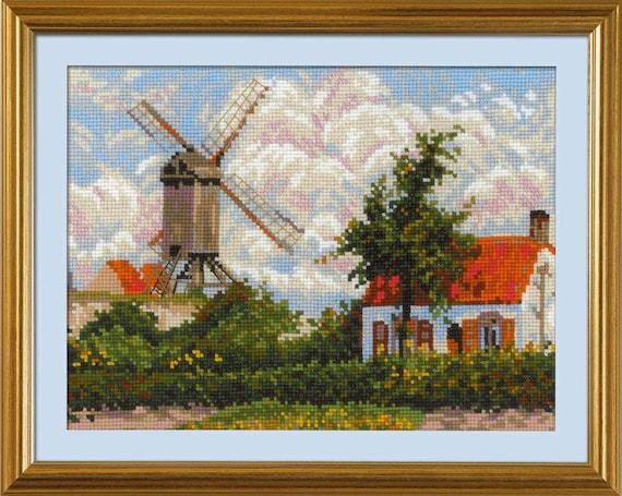 "Counted Cross Stitch Kit RIOLIS 1748 /""Piglet Cushion/"""