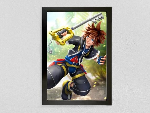 Sora Kingdom Hearts Starbucks Anime Manga Japanese Insipred Nerd Mug
