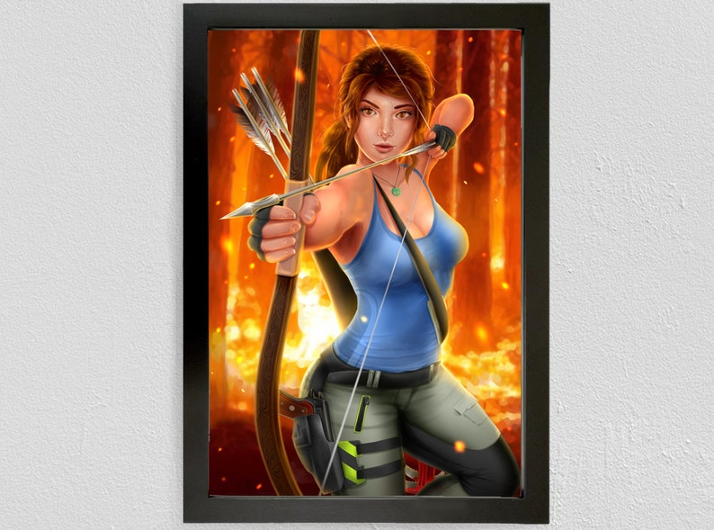 ae05777e24a00b Lara Croft Shadow of the Tomb Raider Poster Print Girl Art Fan