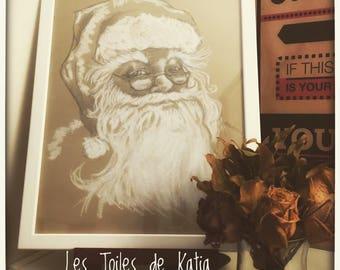 Santa Claus Father Christmas Portrait