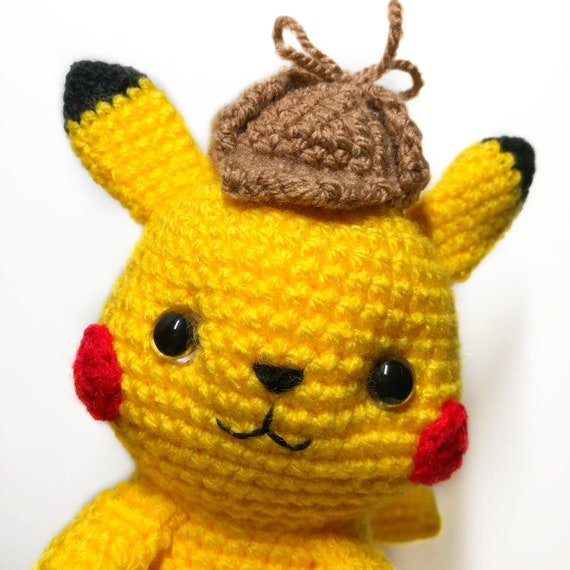 "Schema di Pikachu da ""Pokemon"" (Schema per Amigurumi in file PDF ... | 570x570"
