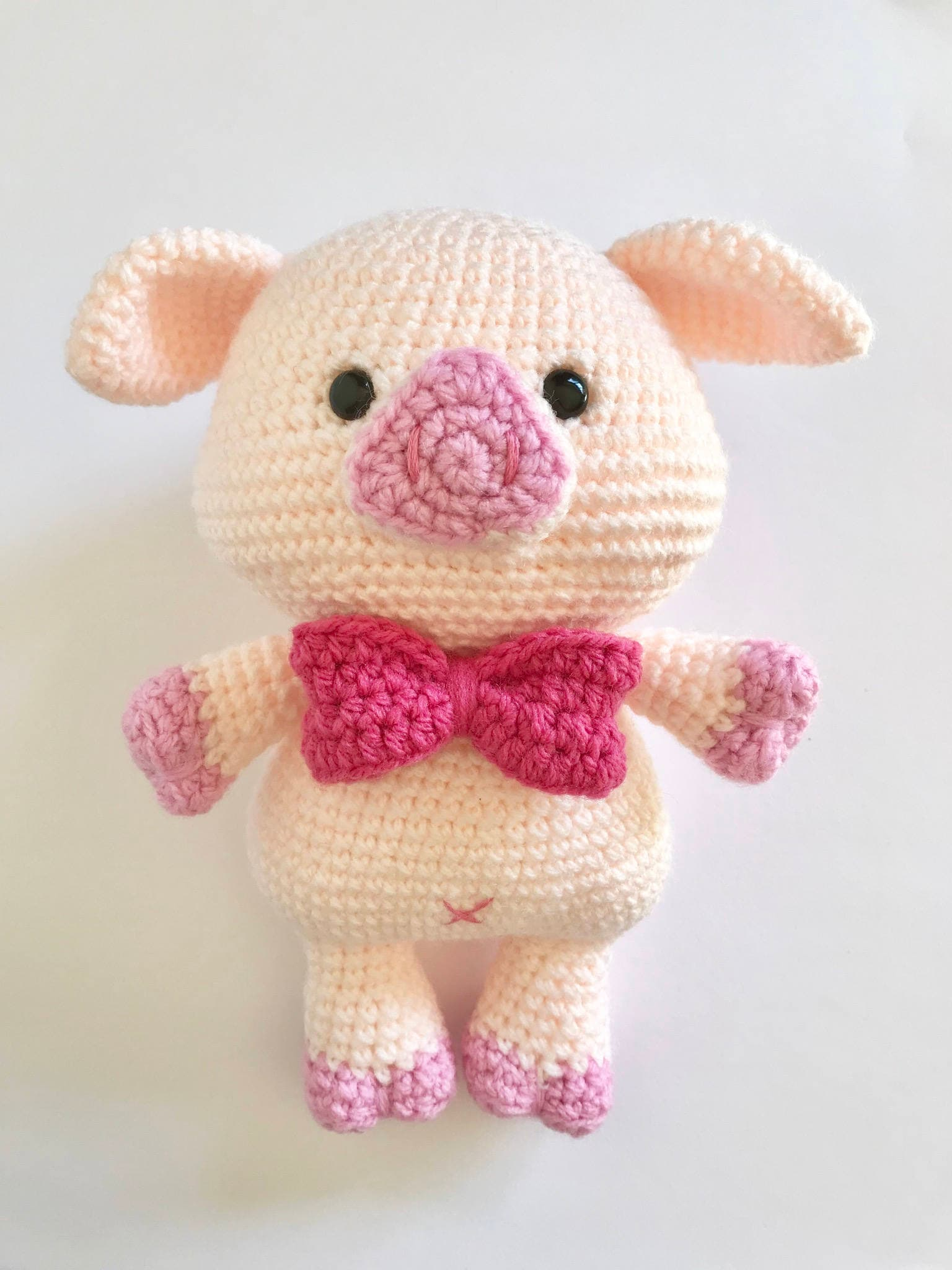 PATTERN: PABLO The romantic pig, pig amigurumi pattern, amigurumi ...