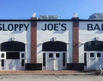 PRINT: Sloppy Joes Bar, Key West, Florida.