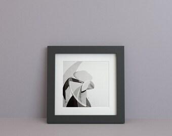 Riso Print, 30x30 Limited Poster signed. Dancer 01 - Illustration