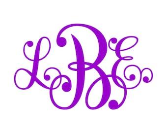 Monogram SVG  Font  No. 20