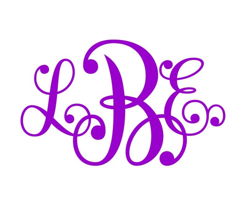 Monogram SVG  Font  No. 20 image 0