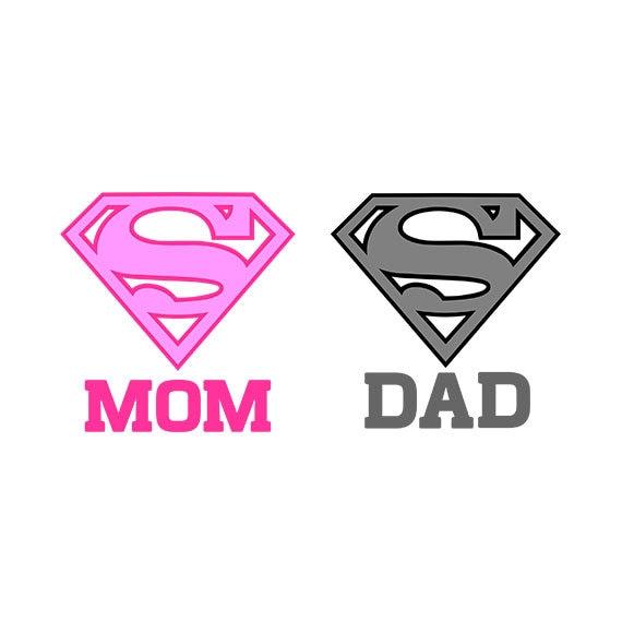 Supermom Svg Superdad Svg Super Dad Clipart Super Mom Etsy