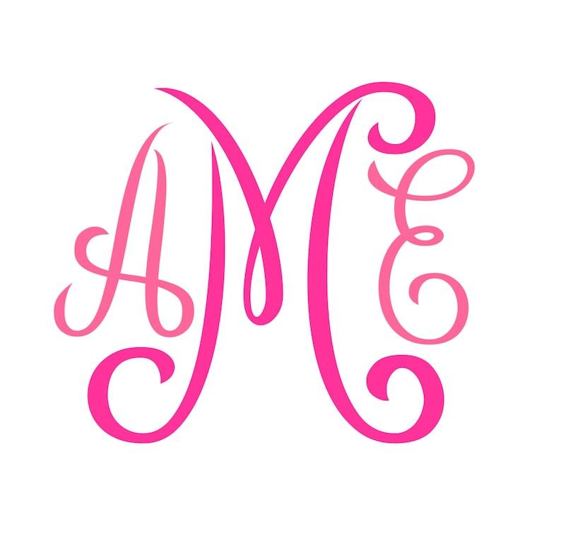 Monogram SVG  Font  No. 01 image 0