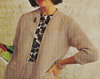 923af4eed96e Bulky knit jacket