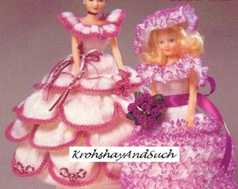 Dolls, Toilet Roll Covers, Knitting Pattern. PDF Instant Download.