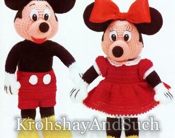 Amigurumi Mickey Etsy