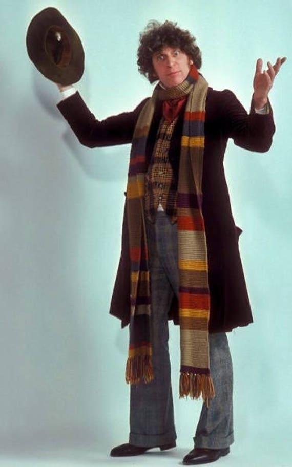 4th Doctor Who Scarf Easy Quick Knitting Pattern Pdf
