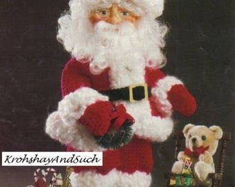 Santa Claus Suit, Crochet Pattern. PDF Instant Download.