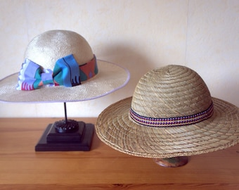Cape, Bow and wide-brimmed Sun Hat