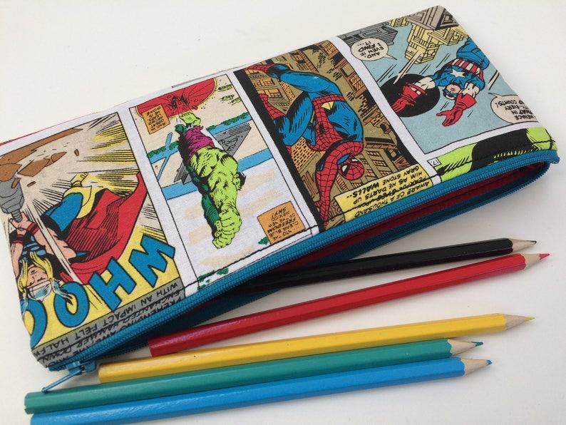 Marvel Avengers Pencil case Official Licensed Kids Children School Stationery