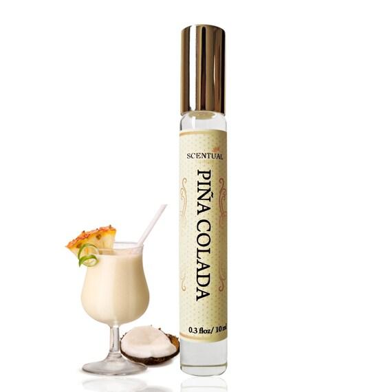 Bio Pina Colada Parfumol Ananas Kokos Parfum Roll Auf Vegan Etsy