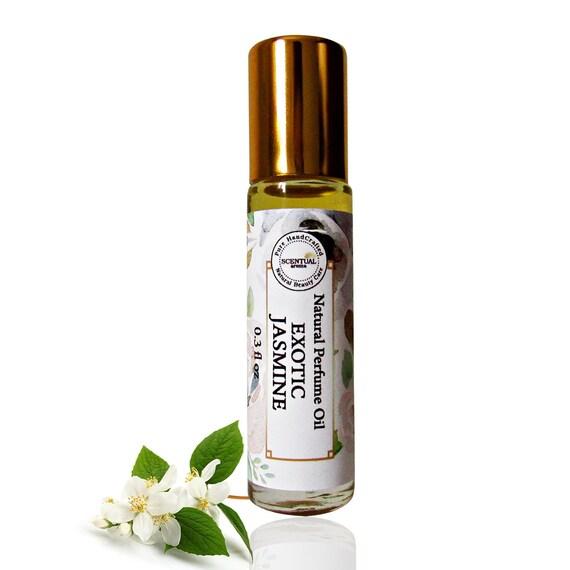 Jasmin Duftol Bio Jasmin Parfum Roll Auf Vegan Parfum Floral Etsy