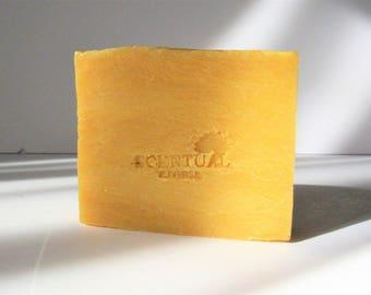 Natural Jasmine Soap, Cold Process Soap, Shea Butter Soap, Vegan Soap, Gift Idea