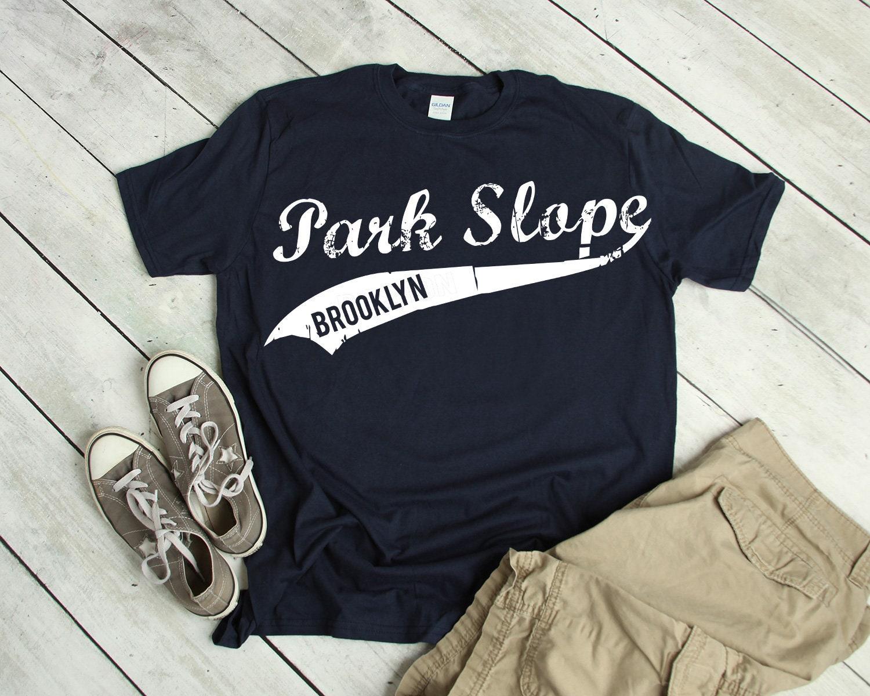 Park Slope Brooklyn Retro Vintage Park Slope Unisex Tshirt  b081b8250fb