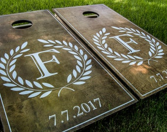Wedding corn hole | Etsy