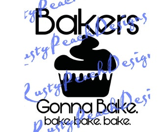 bakers gonna bake cutting file download svg png studio studio3 - Bakers Gonna Bake Kitchen Redwork Embroidery Designs