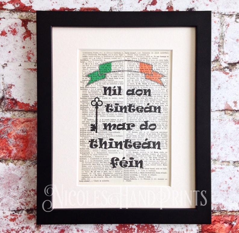 image 0  sc 1 st  Etsy & New Home Housewarming Gift Irish Print Made in Ireland | Etsy