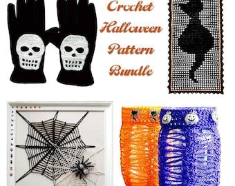 Halloween Crochet Pattern Bundle