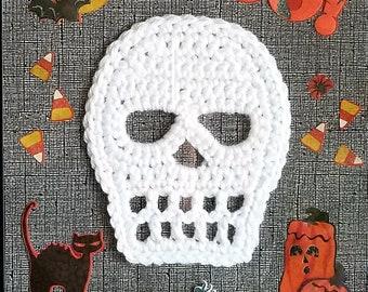 Skull PDF crochet pattern