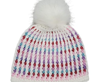 Unicorn Hat PDF crochet pattern