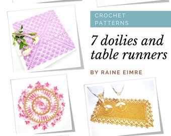 7 Crochet Doilies and Table Runners PDF eBook