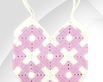 XO Bag PDF crochet pattern