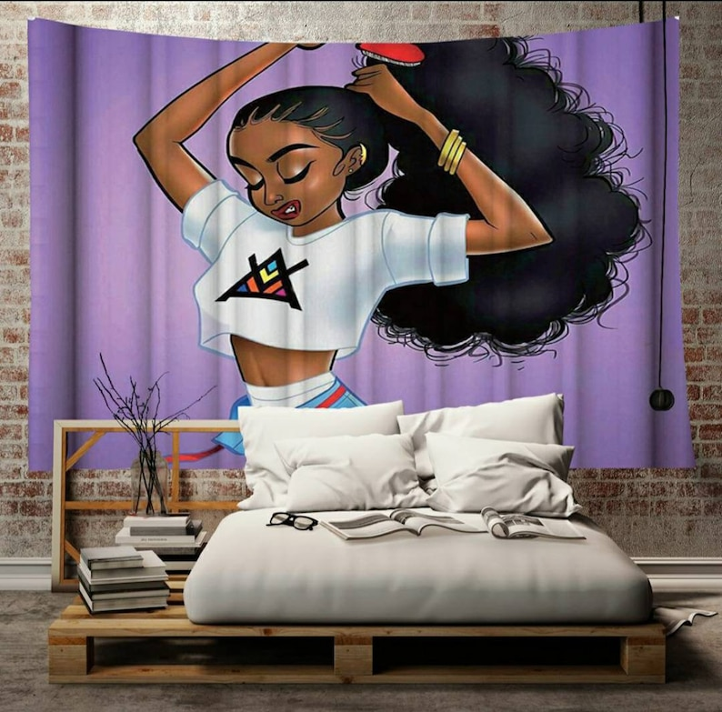 Ethnic Melanated Wall tapestry decoration for your home ***Variety of Styles available *****
