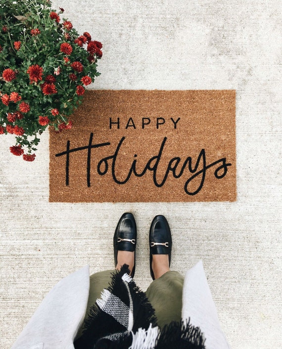 Image result for holiday doormat