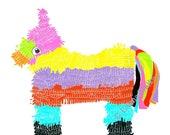 Piñata A4 Giclée Print