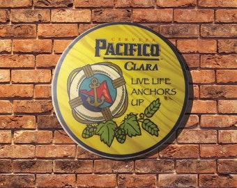 Pacifico Clara Sign