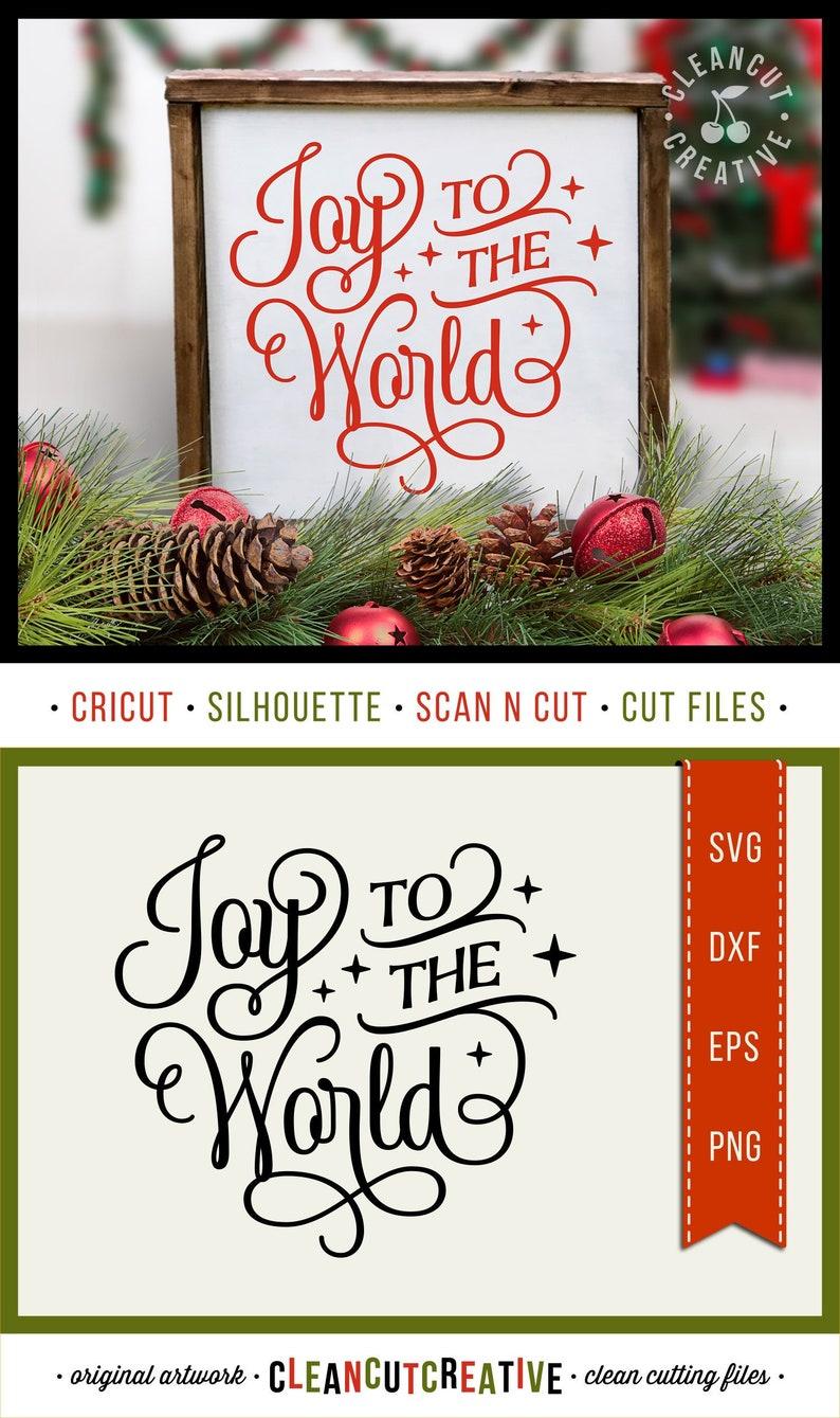 c48be97559bf6 svg Joy to the World svg Christmas svg Joy svg fancy font stars elegant svg  file design - dxf eps png - Cricut & Silhouette - commercial use