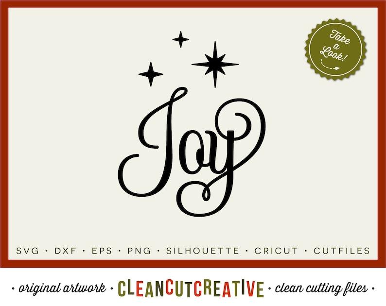 Download SVG Joy svg Christmas Joy svg fancy font stars ornament ...