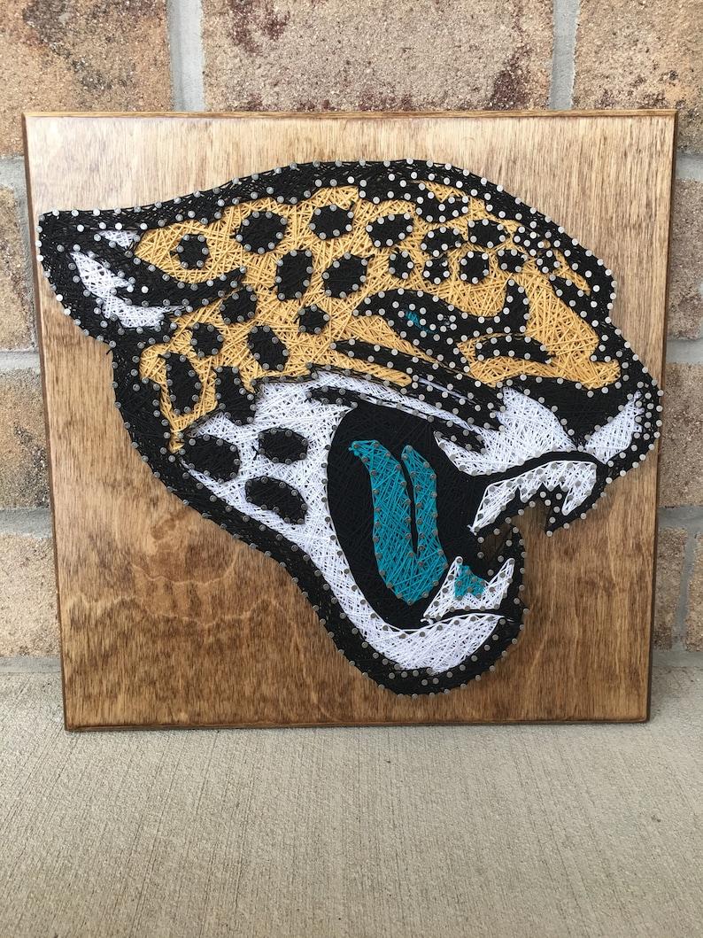 417719d2 Jacksonville Jaguars String Art Board