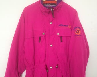 15% Off with Coupon Codes!!! Vintage Ellesse Vertical Dive Made By Goldwin Gore-Mac Japan Ski Jacket
