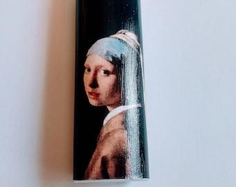 Girl with a Pearl Earring by Johannes Vermeer - Custom Lighter