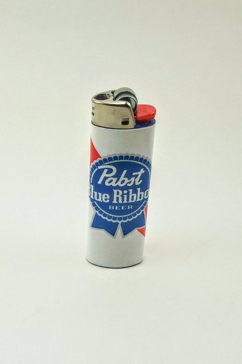 Custom Pabst Blue Ribbon Beer Lighter image 0
