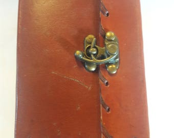 Leather Bound Blank Book of Shadows/Journal