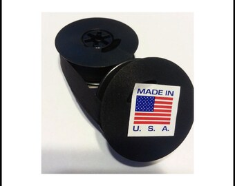 Add a BACKUP Typewriter Ribbon when purchasing your typewriter - Universal Solid Black