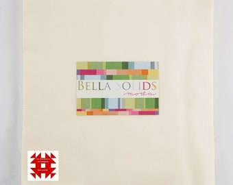 Moda Bella Solids Jr Layer Cake in Ivory - Item # 9900JLC 60