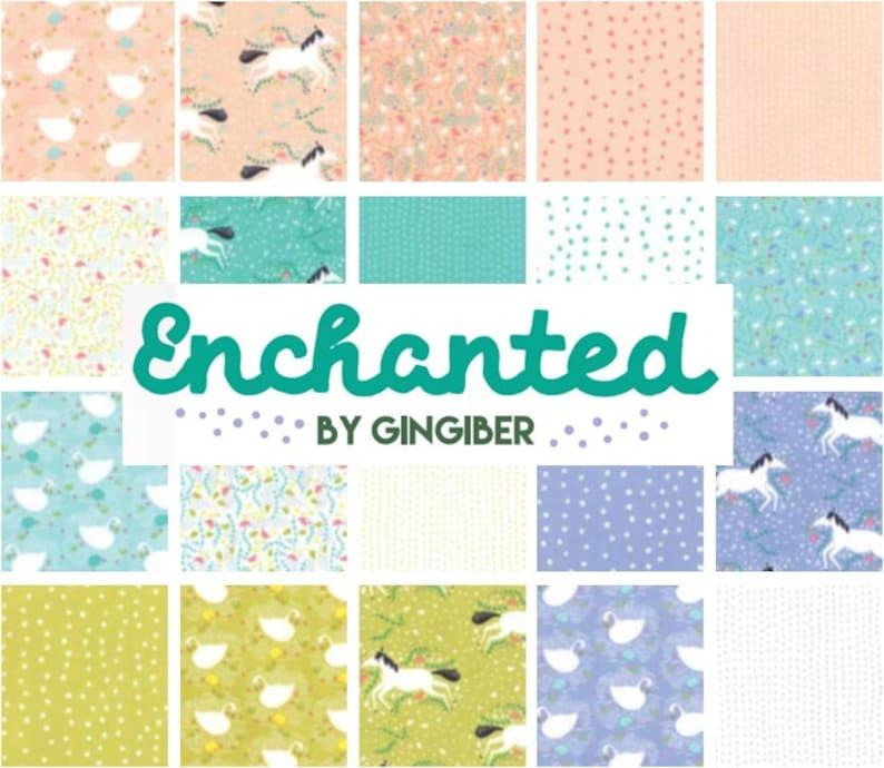 Moda Enchanted Fat Quarter Bundle by Gingiber