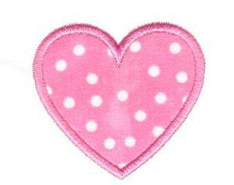 Heart Applique Design, Heart Machine Embroidery Applique, 4x4 5x7 6x10 8x8