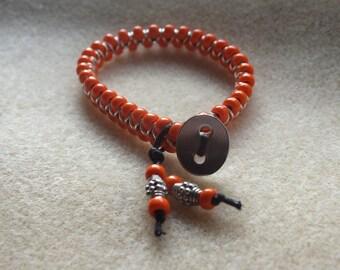 Orange Goddess Bracelet