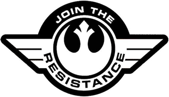 Star Wars Widerstand Symbol Logo Aufkleber für Auto/Laptop | Etsy
