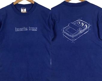 39c1e3b8ed68 Vintage 90s BEASTIE BOYS USA 1998 English Hip Hop Rap Band Shirt Small Size  Concert Tour Promo Poster Gift Public Enemy Run Dmc Wu Tang Boyz