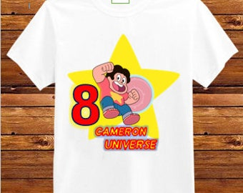 Steven Universe Birthday Shirt